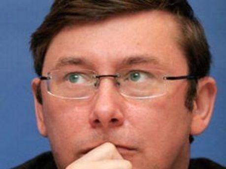 Екс-міністр внутрішніх справ Юрій Луценко