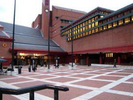 Здание Британской библиотеки