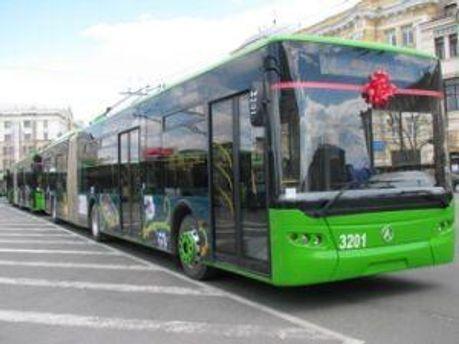 Нові львівські тролейбуси