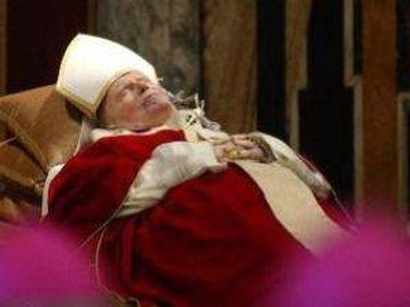 Мощи Иоанна Павла II уже в Киеве