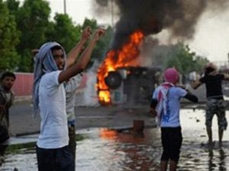 Есть жертвы демонстраций