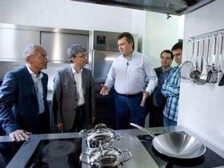 Кухня Президента в резиденции