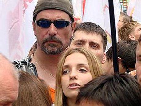 Шон Карр і Євгенія Тимошенко