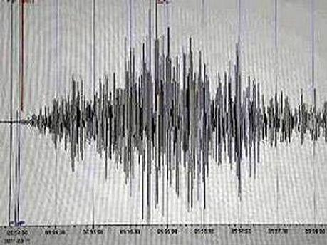 Новое землетрясение  произошло в Японии