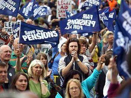 Британці протестують