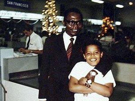 Барак Обама-старший и теперешний Президент США