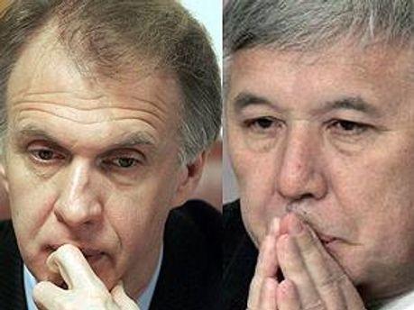 Владимир Огрызко и Юрий Ехануров