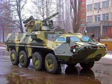 Ирак не оштрафовал Украину за БТРы