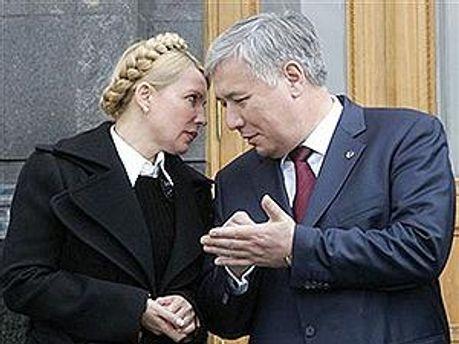 Юлия Тимошенко и Юрий Ехануров