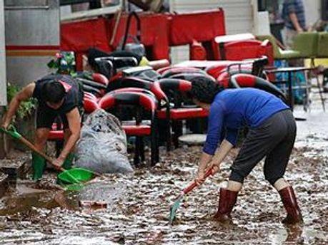КНДР страдает из-за сильных дождей