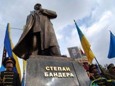 Пам'ятник Степану Бандері