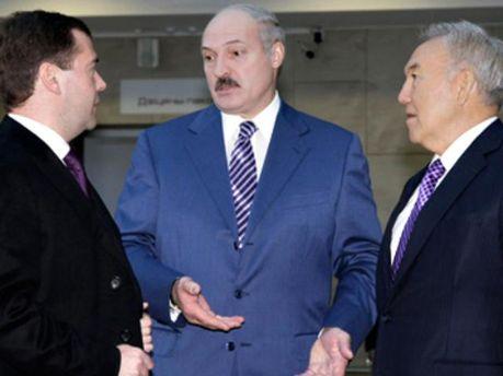 Тройка Таможенного союза не поддержала Януковича