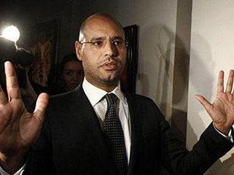 Син Муамара Каддафі Саїф аль-Іслам