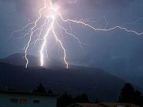Итальянец погиб от молнии