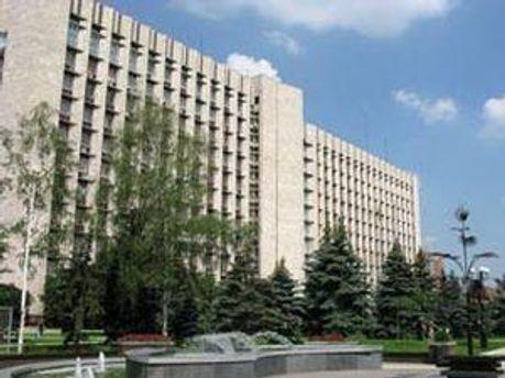 Здание Донецкого областного совета