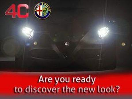 Тізер Alfa Romeo 4C у Facebook