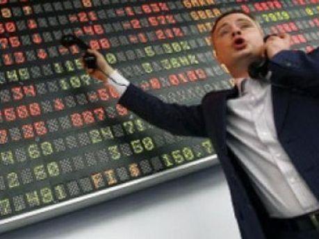 Ринок акцій отримав серьйозні збитки