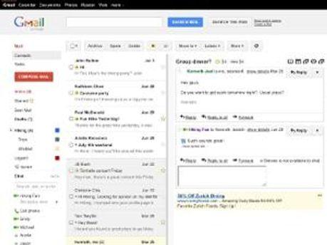 Новый вид Gmail