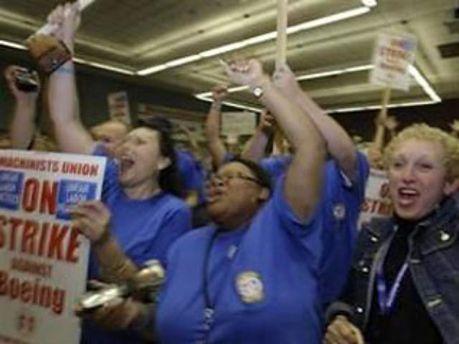 Співробітники найбільшої компанії США страйкують