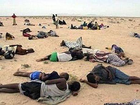 У Могадішо зібрались близько 100 тисяч біженців