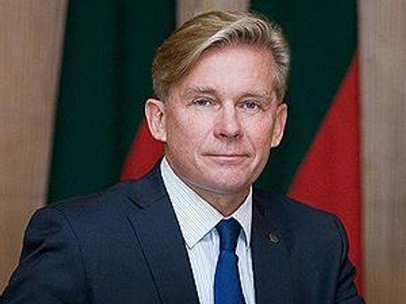 Голова ОБСЄ Аудронюс Ажубаліс