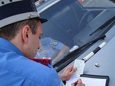 У водія забрали права співробітники ДАІ, —