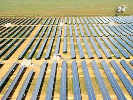 У Криму будують надпотужну сонячну електростанцію