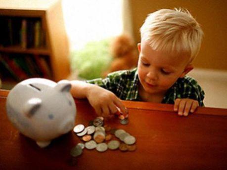Немецкие дети очень экономные