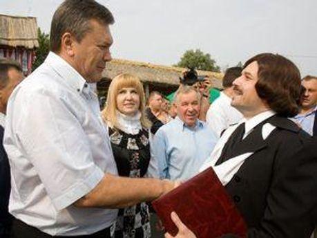 Віктор Янукович на Сорочинському ярмарку