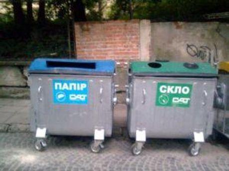 Українці готові сортувати сміття
