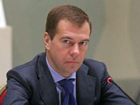 Президент Росії Дмитро Медведєв