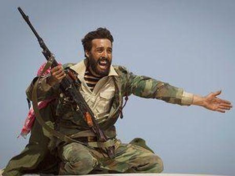 Ливийские повстанцы захватили новый город