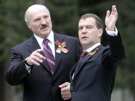 Медведєв задоволений Білоруссю