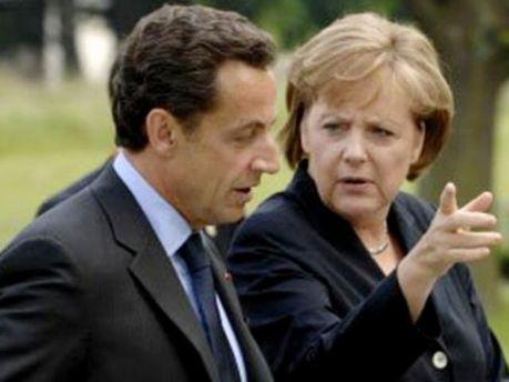 Ангела Меркель і Ніколя Саркозі