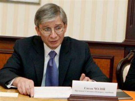 Президент Всемирного конгресса украинцев Евгений Чолий