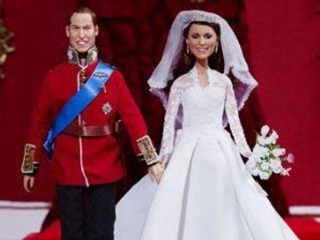 Кукольные Уильям и Кейт
