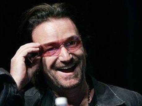 Лидер группы U2 — Боно