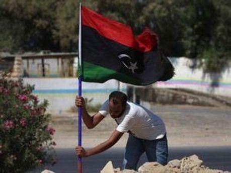 Прапор лівійських повстанців