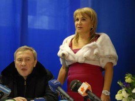 Леонід Черновецький та Аліна Айвазова
