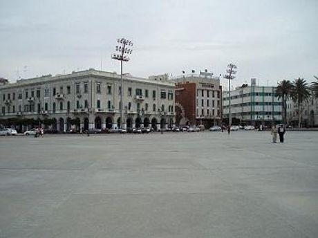 Площадь мучеников в Триполи