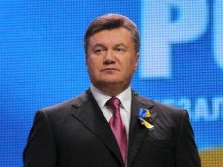 Президент України Віктор Янукович на урочистостях з нагоди 20-ї річниці Незалежності України