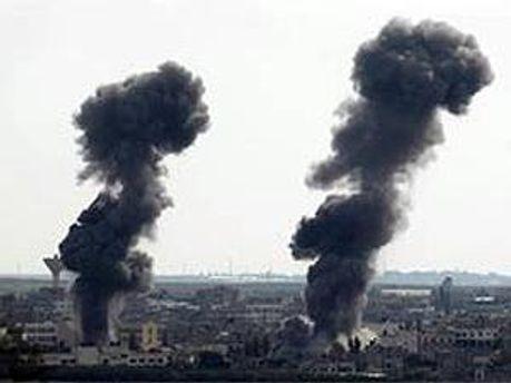 Ізраїль завдав ударів у відповідь