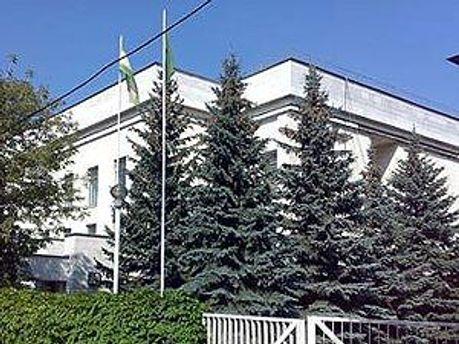 Ливийское посольство в Москве