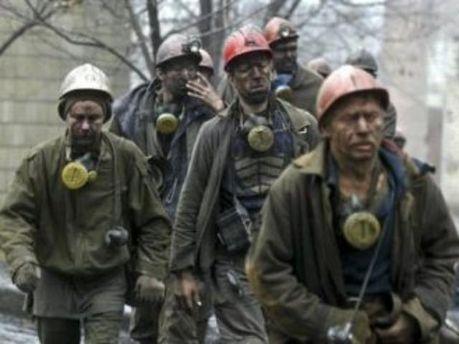 Шахтарі збільшили видобуток вугілля