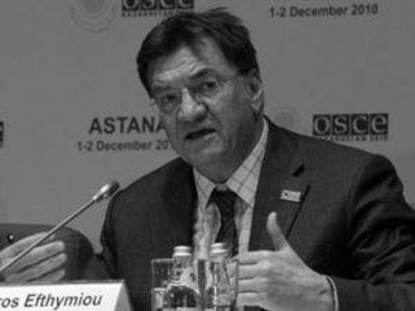 Петрос Ефтіміу слідкує за процесом справи Тимошенко