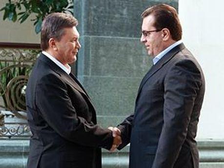 Віктор Янукович і Маріан Лупа