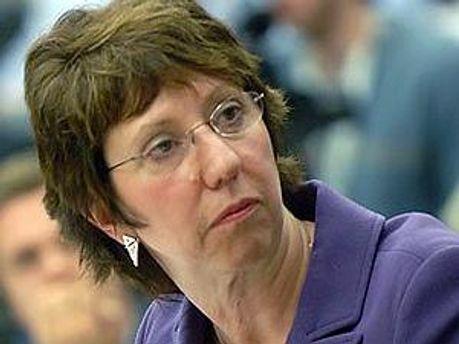 Глава европейской дипломатии Кэтрин Эштон