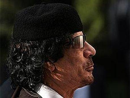 Каддафи не в Алжире