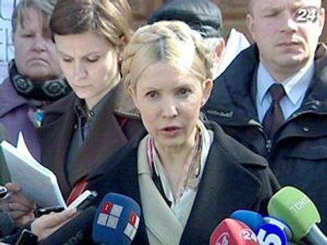 Юлия Тимошенко видит фальсификации в
