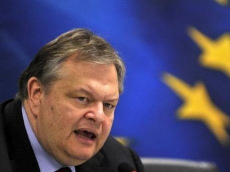 Міністр фінансів Греції Евангелос Венізелос